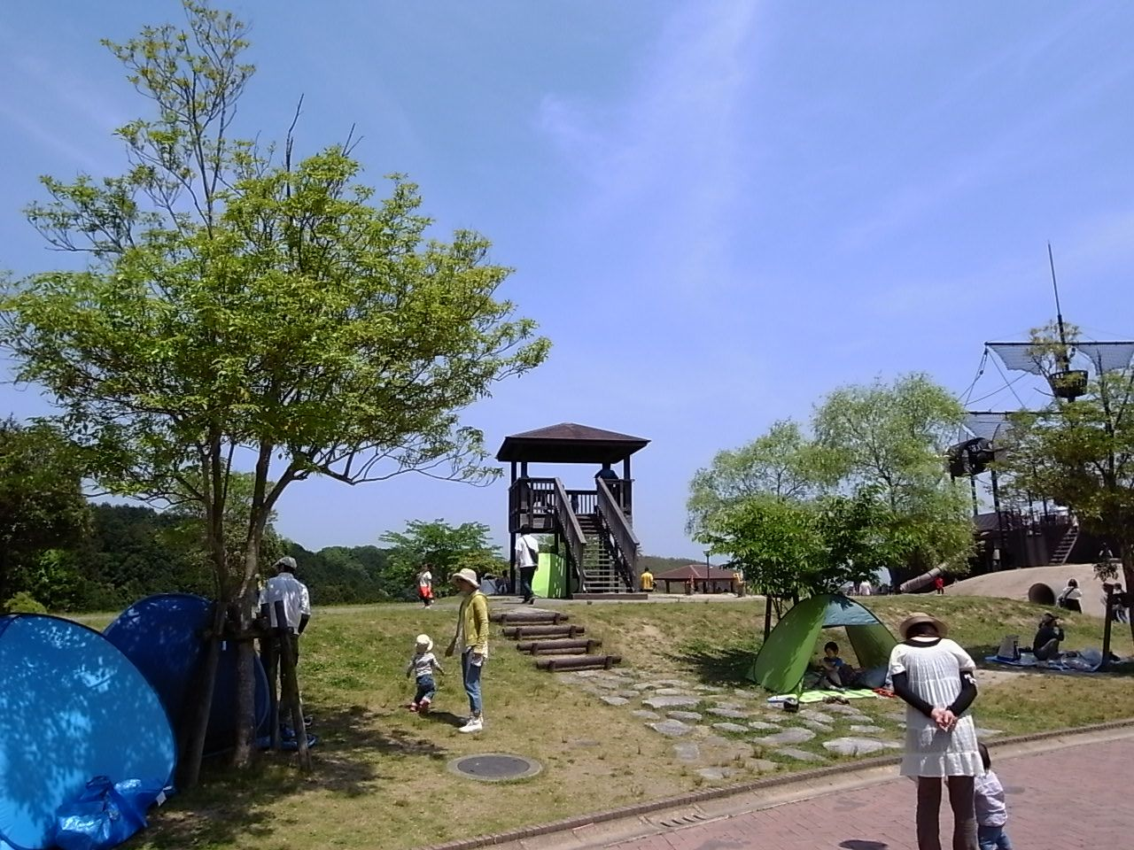 福岡の筑紫野市総合公園6