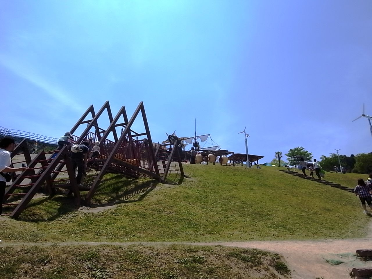 福岡の筑紫野市総合公園1