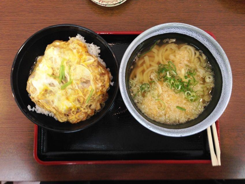 ほり野の麺工房親子丼
