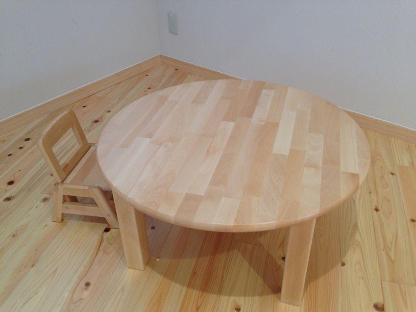 ふれいあこども館テーブルとイス