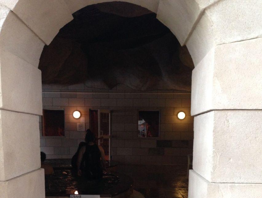 水の王国スパ&リゾートプールのサウナ