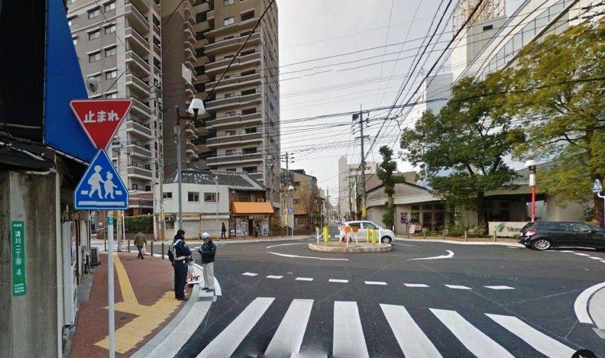 福岡のラウンドアバウト