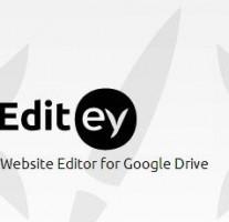 クラウドエディタ「Editey」がなかなか便利!Googleドライブにホスティングできます。