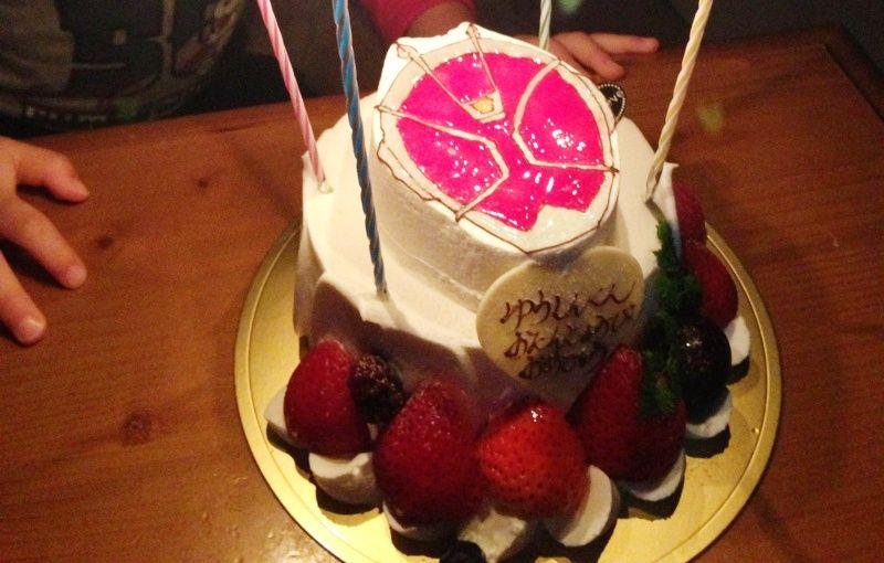仮面ライダーウィザードのケーキ
