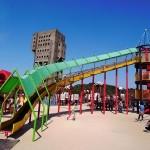 志免町総合福祉施設シーメイトは遊具や施設が充実しています。