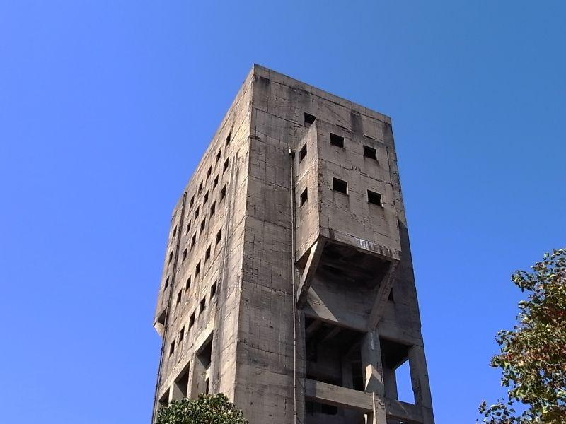 旧志免鉱業所の竪坑櫓