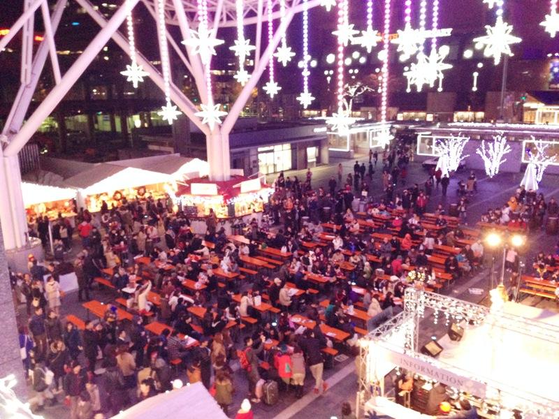 クリスマスマーケットin光の街 博多2014