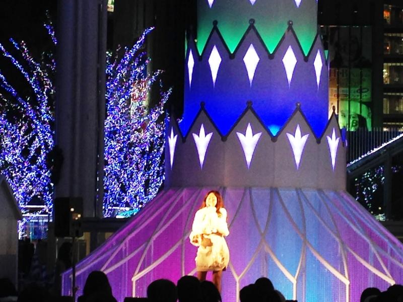クリスマスマーケットin光の街 博多2014live