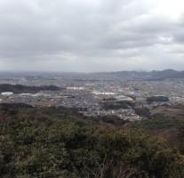 筑紫野総合公園・天拝湖方面から天拝山に登ってきました。