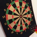 【magnetic dart board】子どもでも安全にダーツで遊べるぞ!