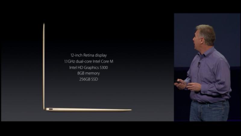 新型のMacBook
