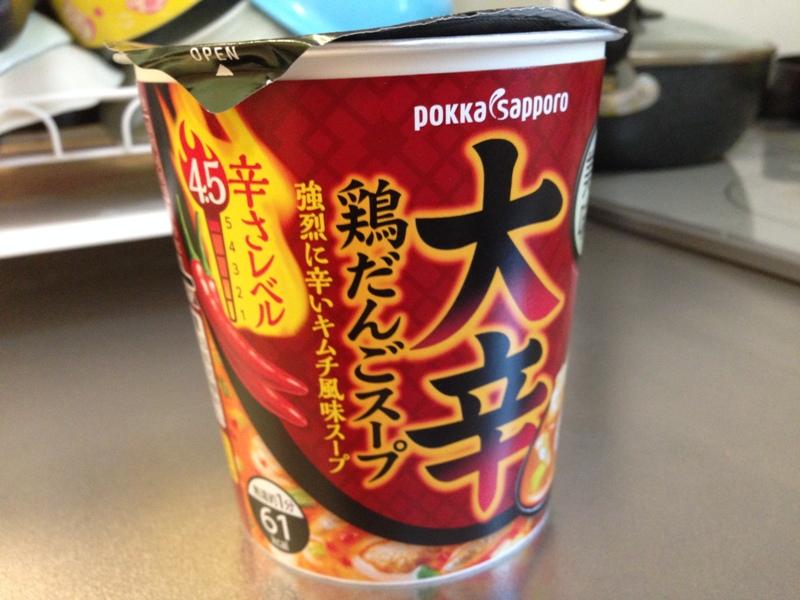 ポッカサッポロ 大辛鶏だんごスープ