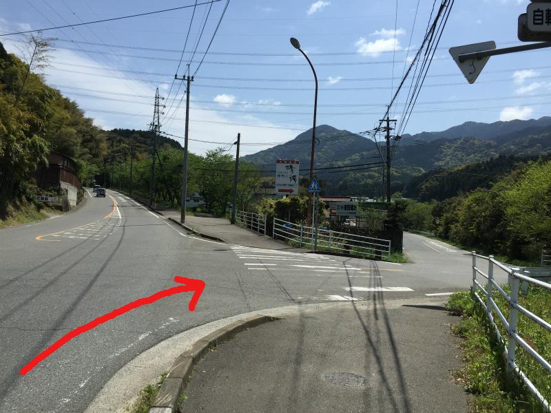 那珂川清滝方面