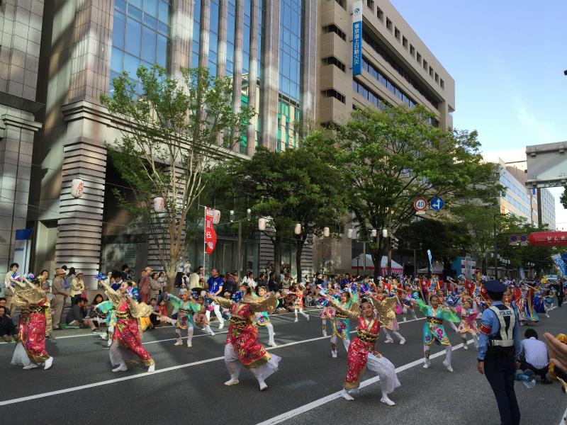 那珂川町のパレード2