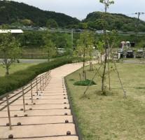 九州自動車道の基山PA近くの綺麗な公園は「上原田公園」