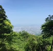 【福岡市】もーもーらんど側から油山に登ってきました。