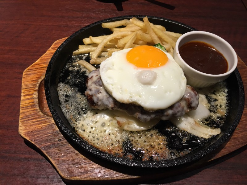 デミたまチーズハンバーグ