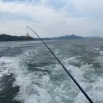 義父の船に乗って、長崎の大島大橋下でアラカブを釣ってきました。