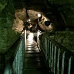 七ツ釜鍾乳洞に行ってきました。そこは自然の冷蔵庫で気持よかった。