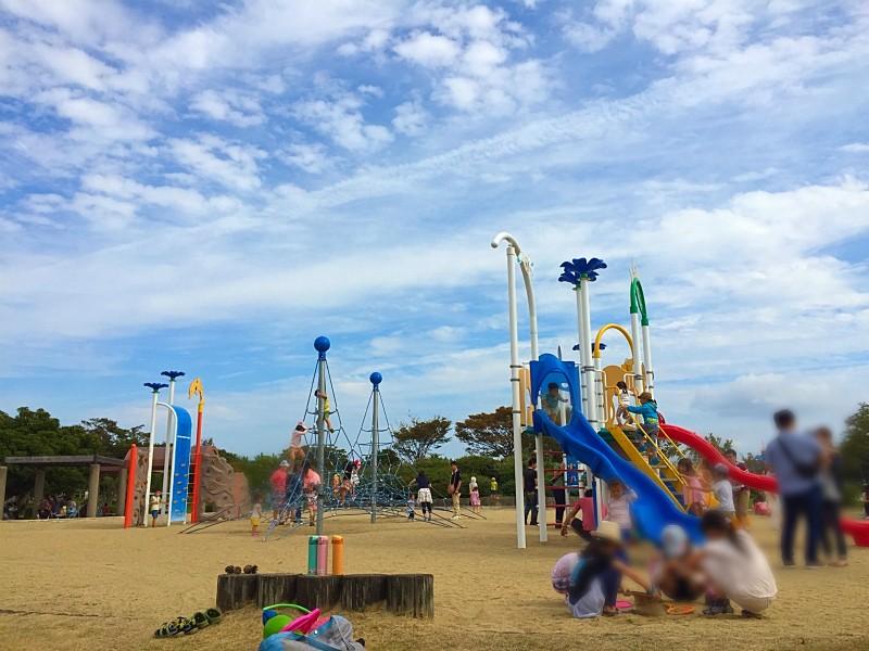 今津運動公園の遊具