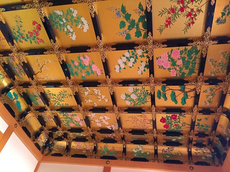 昭君之間の天井