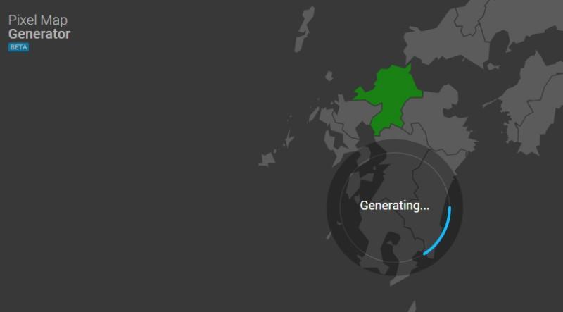 generate pixel map