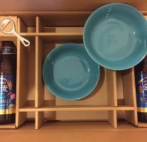 サントリー金麦「幸せの、あいあい皿 みんなにお届け」キャンペーンの景品が届きました。
