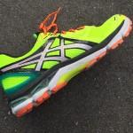 来年の福岡マラソンを目標に「asics GT-2000 NEWYORK3」で日課のジョギングを再開しました。