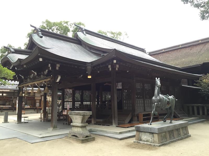 宇美八幡宮の社殿