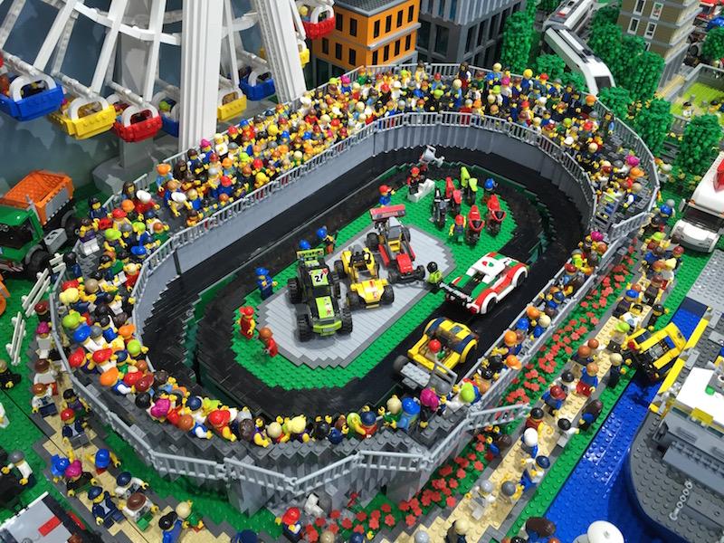 レゴの巨大ジオラマ