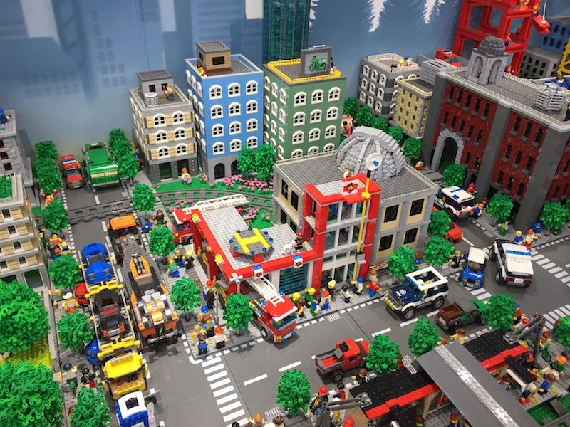 レゴのジオラマ