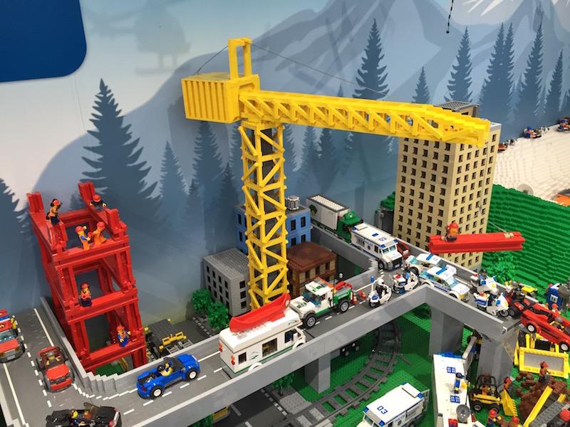 レゴの作業現場