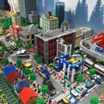 20万ピース以上のレゴブロックで作られた巨大ジオラマは夢いっぱい。