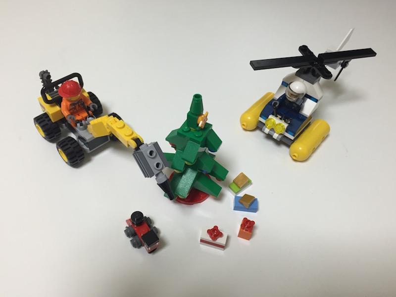 もらったレゴのおもちゃ