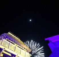 大混雑のライトアップイベント「吉野ヶ里 光の響」は幻想的でしたよ。