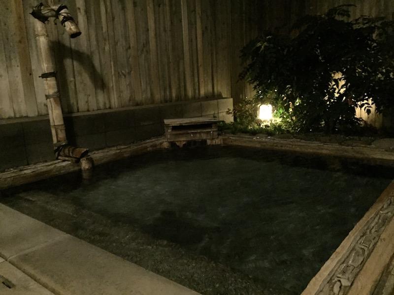 福岡の露天家族風呂