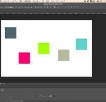 [Photoshop] 一つのレイヤーを基準としてオブジェクトを整列する方法