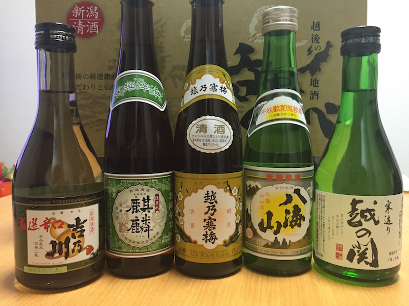 日本酒5本セット