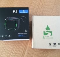 防水防塵仕様のBluetoothスピーカー『SoundPEATS P2』をレビューします。