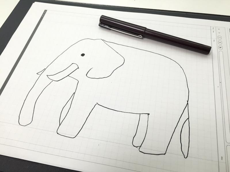 象のイラスト