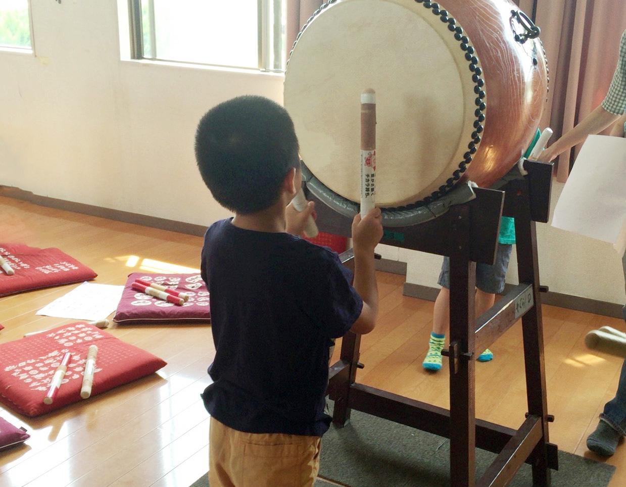太鼓の初練習