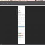 [Photoshop] 縦長のWEBデザインでも簡単に好きな位置に移動できる小技