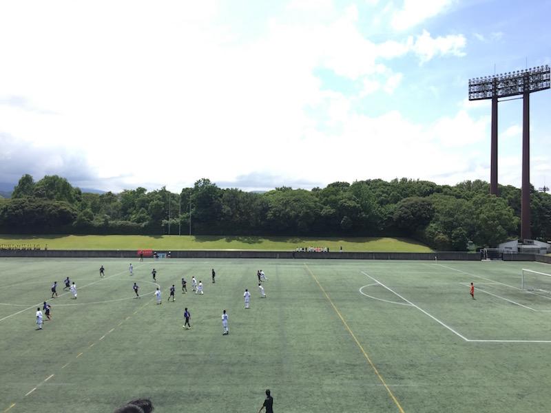 中体連サッカー試合
