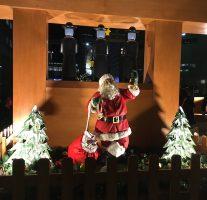 「TENJIN Christmas Market」@市役所前ふれあい広場。グリューワインでポカポカ。