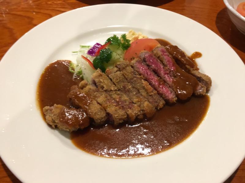 神戸ビフカツ(牛)定食