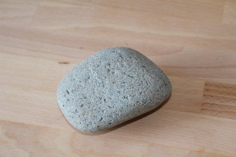 「子安の石」用の新しい石