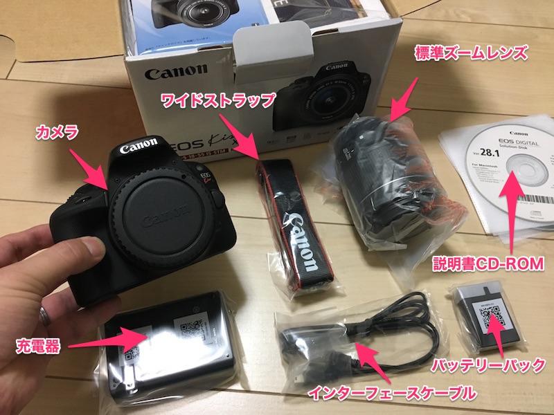 カメラ箱の中身