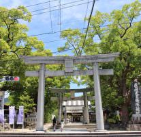 こどもの日は宇美八幡宮にお宮参りに行ってきました。